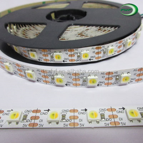 Hot popular sk6812 wwa ribbon 5050 5 meters best quality led strip lighting