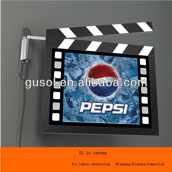 Metal sputtered polycarbonate film/transparent 125mic ito pet film for EL