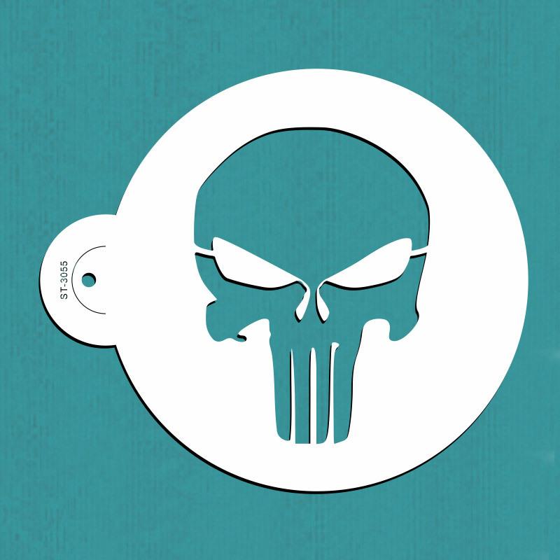 Punisher Stencil Download