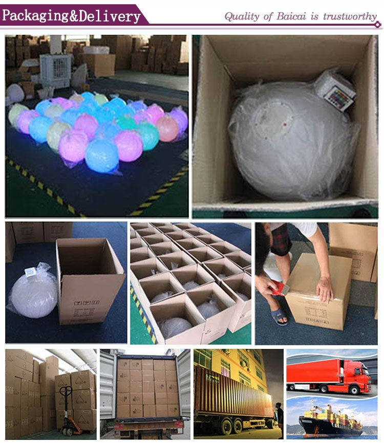 New customized plastic led bulb speaker factory directly