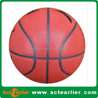 size 7 pu leather basketball balls