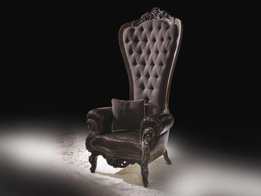 Bomacy mexico elegant design royal king throne high back