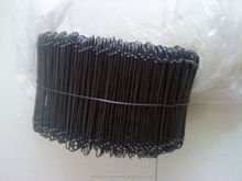 Double wire spiral binding black wire/ loop wire binding /Double Loop Wire