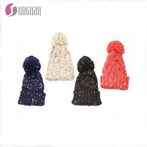 3e93cca04c9 New design European fashion high quality hot sell mixed color colourful  warm knitted beanie hats for