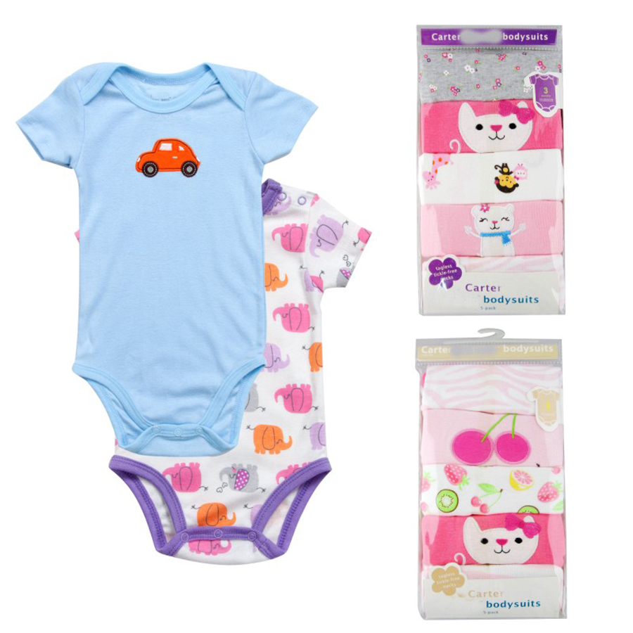5-pcs-lot-Baby-Short-sleeve-rompers-baby-boy-jumpsuit-Newborn-baby-cotton-romper-Jumpsuits-Rompers (2)