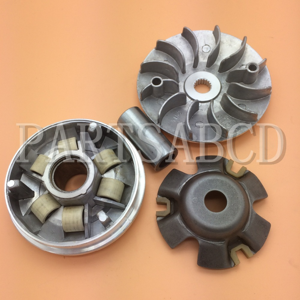 115mm 19t Cvt Performance Variator Fan Gy6 125cc 150cc 152qmi 157qmj Baja Baotian Kazuma Buggy Atv Scooter Parts Atv,rv,boat & Other Vehicle Atv Parts & Accessories