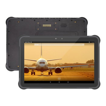 IP68 Waterproof 4G Ruggedized Tablet 10 inch NFC Android Industrial Tablet PC With POGO pin