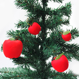 Safeness Fruit/Apple Christmas Tree Ornaments Hanging Decorations