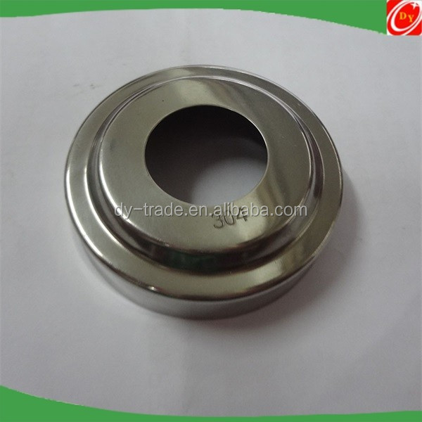 stainless steel handrail fitting railing square base cover