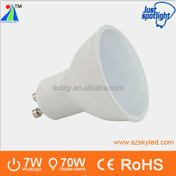 cheap price 7w 220v gu 10 coolwhite 6000k 6500k spot light gu10 led