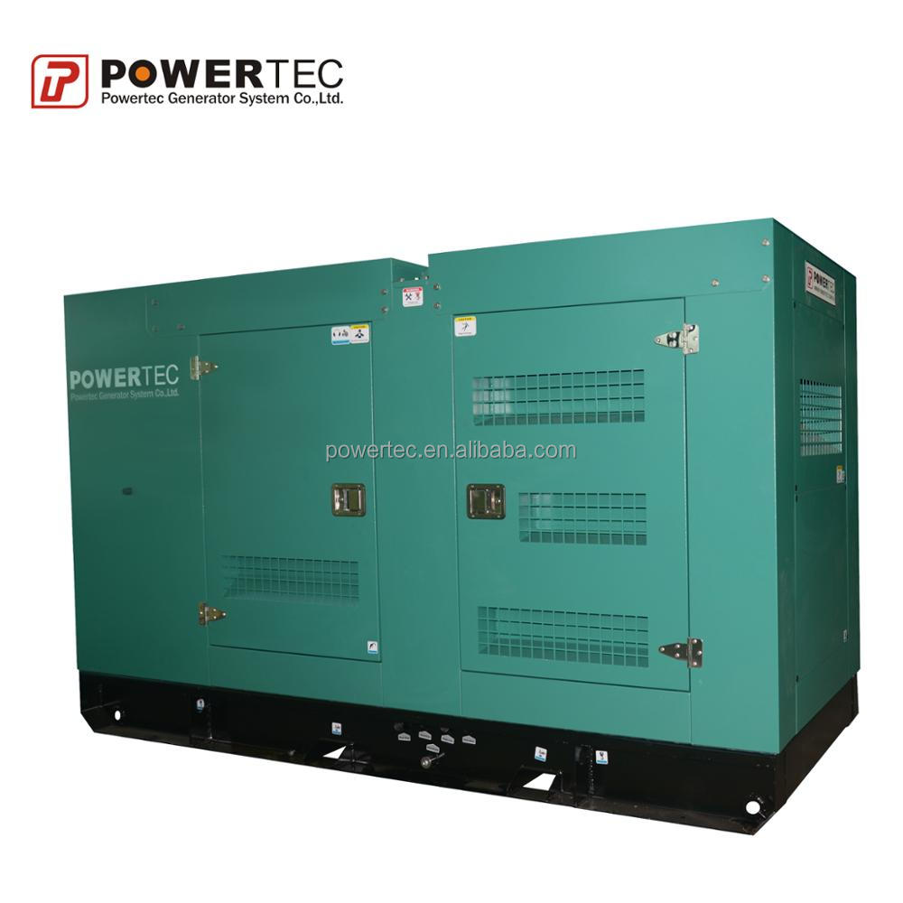 energy conservation Guangdong cheap price Guangdong economical power solution 300kW standby power POWERTEC Diesel generator