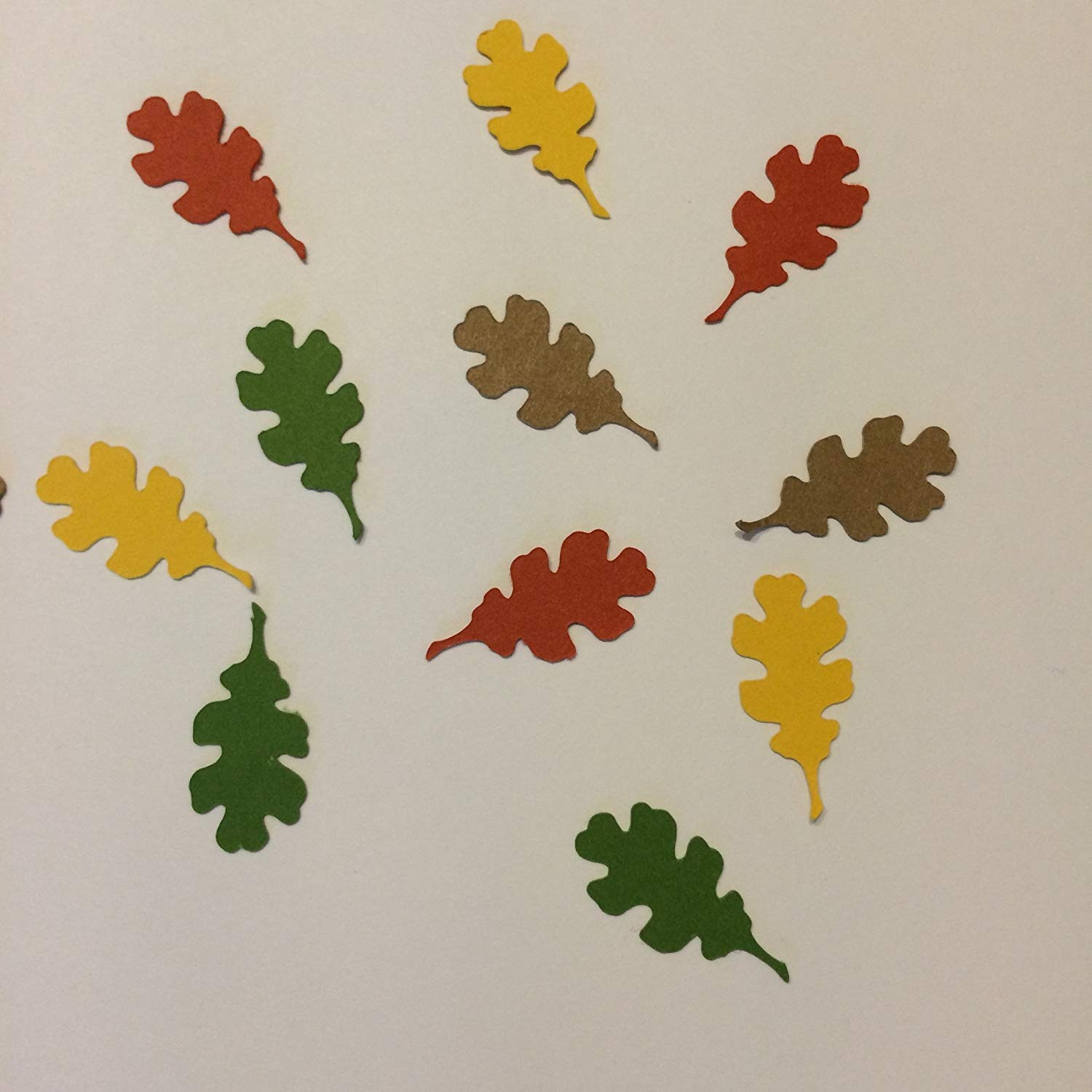 1in Confetti Set, Oak Leaf Cut Outs, Fall Decorations, Autumn Decorations, Thanksgiving Party Supplies, Thanksgiving Party Supplies, Halloween Decorations, Rustic Confetti, Oak Leaf Decorations