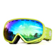 Top standard best quality snow color winter sport equipment goggles for skiing