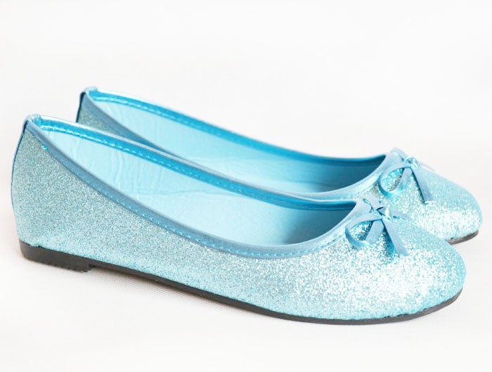 Retails or Wholesales Fashion Glitter Kids Girls Ballet Flats Casual Shoes For Christmas Gift