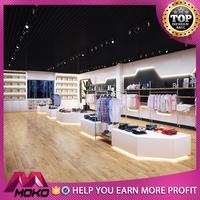 3d interior design women garment small retail shop store design