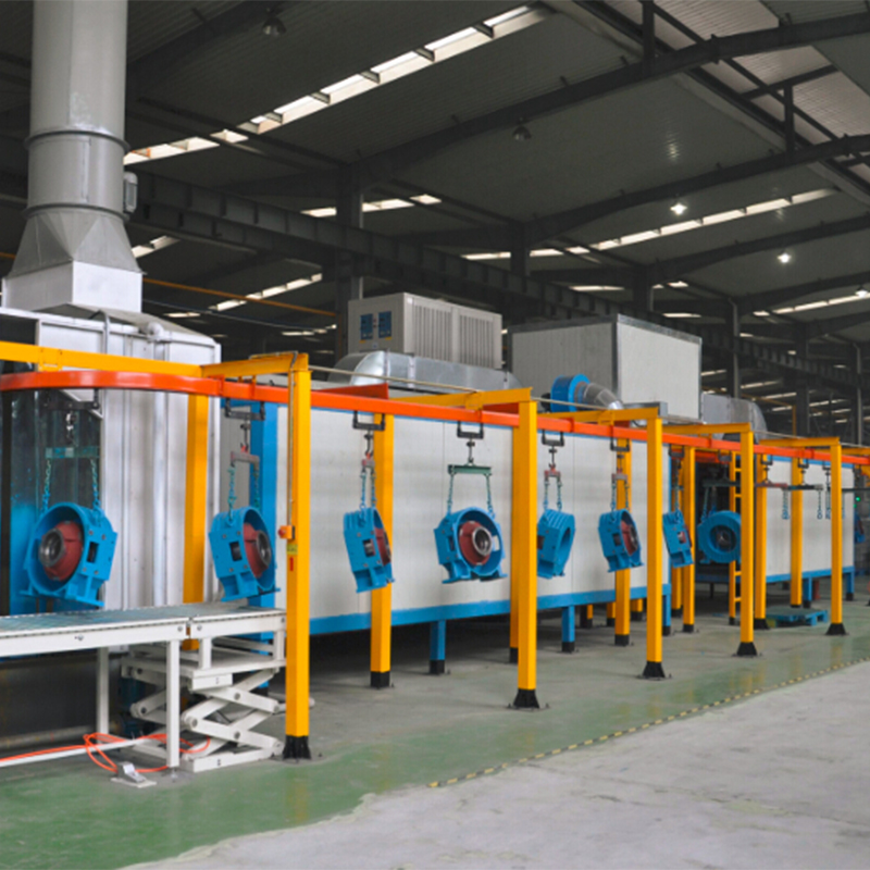 Recirculation air system painting line zn18001 application for pump