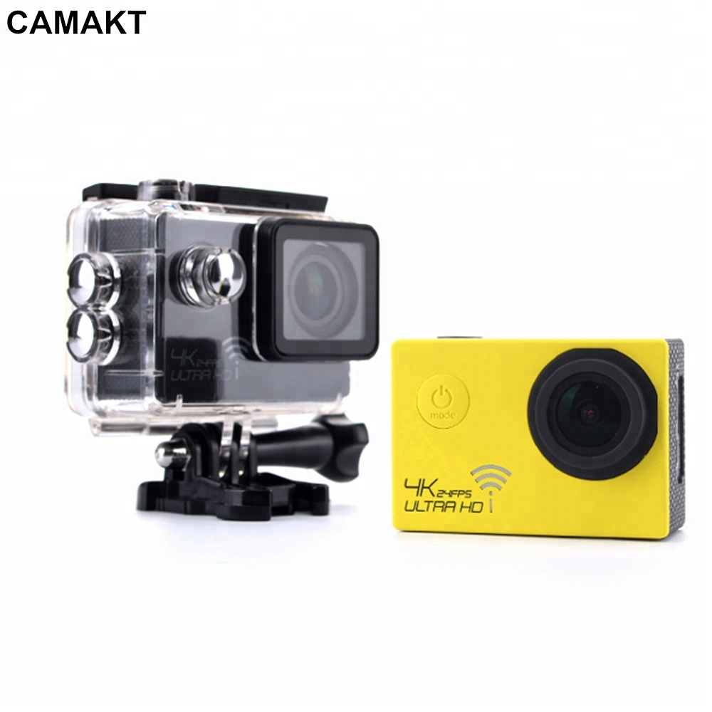 2018 Fashionable 4K Waterproof Digital Video Extreme HD Remote Camera Mini Sport DV 1080p Camcorder for Outdoor Action