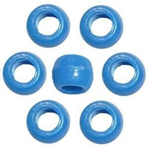 720 Neon Blue Opaque Pony Beads