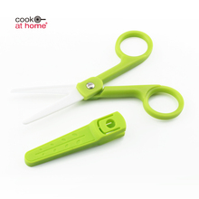 Creative High End Mini Herb Food Cutting Kitchen Scissors Set For Baby