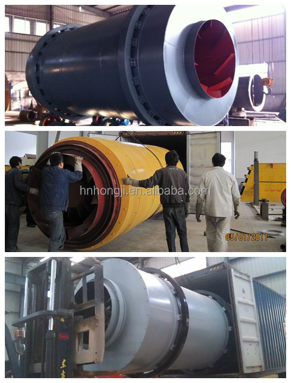 Factory Price Industrial Equipment Rotary Drum Dryer