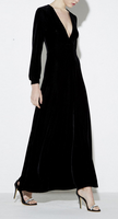 EY1527D Summer Trendy Pleated Long Sleeve Maxi Cloak Dresses For Woman 2016