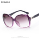 Cramilo 2016 oversized brand butterfly gradient lens fashion sunglasses 9708