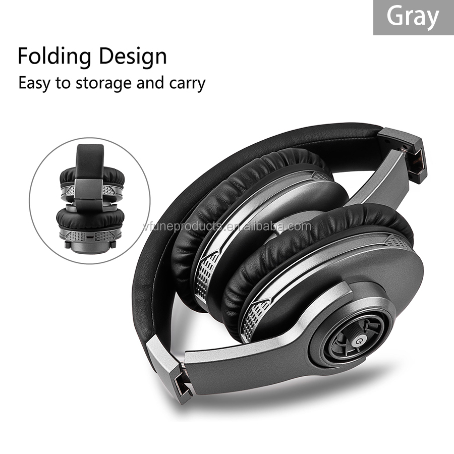 Classic Tuner Grand Metal Headband Headphone Wireless Handfree Noise Cancelling Headphones Earphone Headphones
