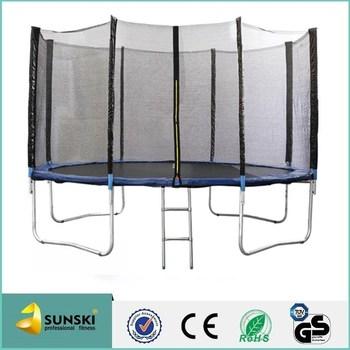 Indoor Industrial Trampoline 12ft Enclosure Design Buy