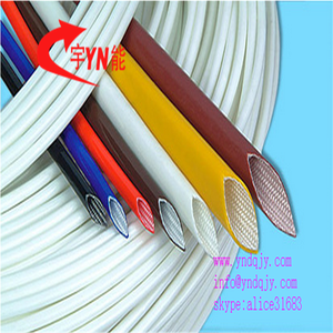 Stock silicone rubber fiberglass sleeves