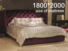 Antique striped mattress