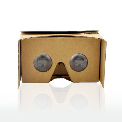 custom high quality google cardboard v2 3d video glasses free sample google cardboard