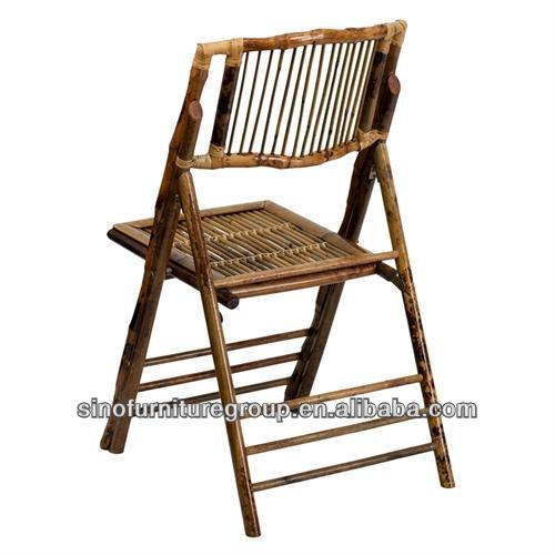 Chaise De Jardin En Bambou Pliante