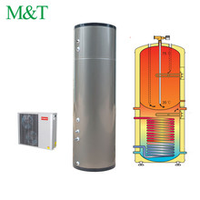 Stainless steel tank meeting air source heat pump thermodynamic water heater 1000w