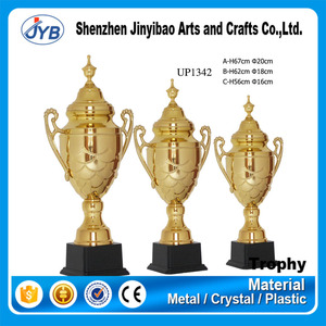 Chinese golden supplier customized trophy cups manufacturer