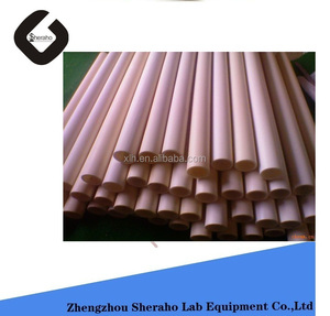 1700C High purity 99.7% refractory alumina ceramic tubes