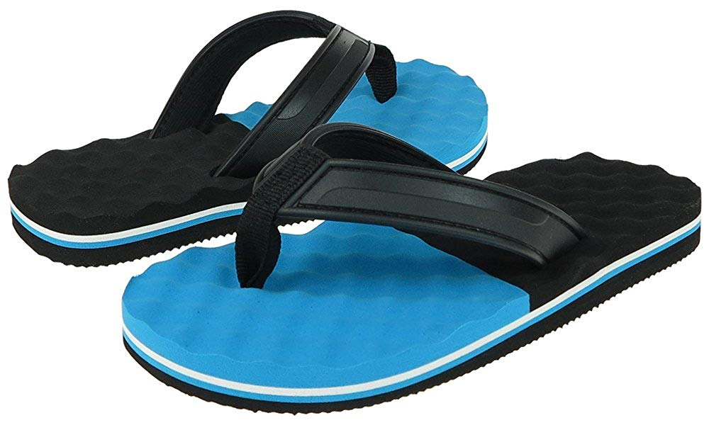 Capelli New York jelly thong with webbing toe post Boys Flip Flops