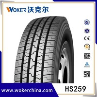 Steel tubeless radial truck tires 385/65R22.5, 315/80R22.5, 295/80R22.5,