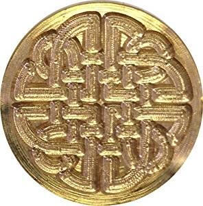 "Celtic Knot 3/4"" diameter Brass Wax Seal Stamp"
