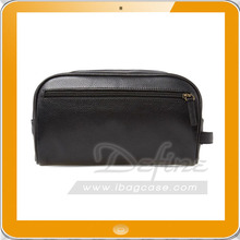 Classic Luxury Leather Washbag