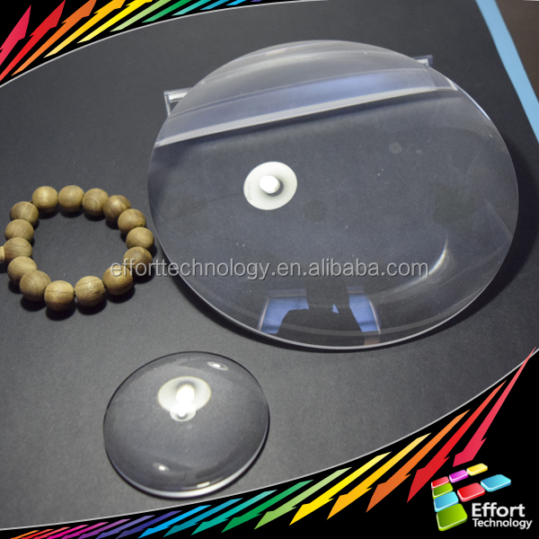 High precision optical glass dome lens in optical location Changchun