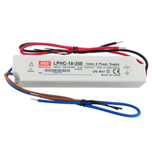 Meanwell Waterdichte SMPS 350mA AC 48 V DC <span class=keywords><strong>led</strong></span> <span class=keywords><strong>Power</strong></span> LPHC-18-350