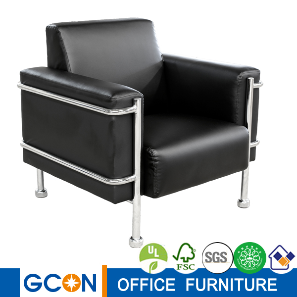 used office furniture sofa with footstool leather office sofa pictures comfortable single office sofas