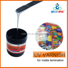 UV offset vanishing ink