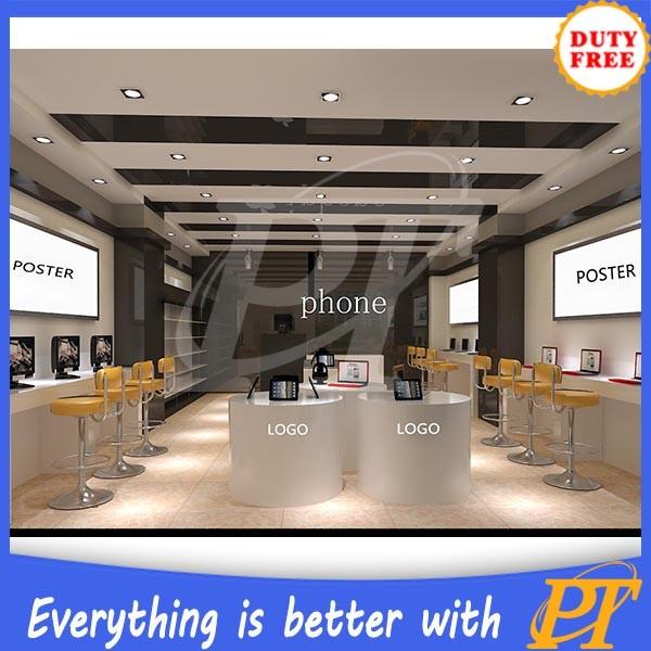Modern Computer Shop Interior Design Display Computer Shop
