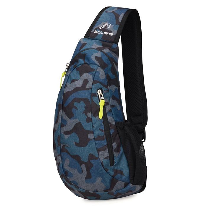 Sling Shoulder Backpack Travel Chest Bags Crossbody Hiking School Bag Men Women Trendy For
