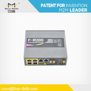Fr200 4g Multi Sim Modem Industrial Gprs/3g/4g/lte Router M2m Scada Rs232  Network Led Display Multi Sim Gsm Modem - Buy 4g Multi Sim Modem,Gps 3g
