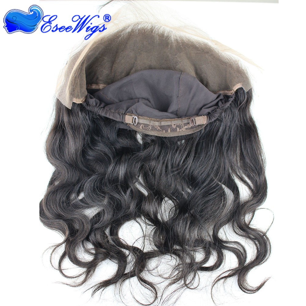 2016 New Style 8A Grade Lace Frontal Closure 13X4 Back With Adjust Strap Cap Malaysia Virgin hair Body Wave 360 Lace Band 22x4