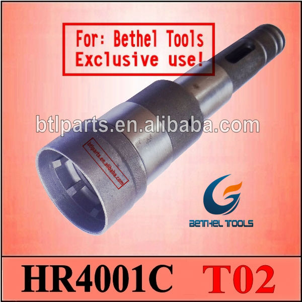 holder tool in Makita spare parts in model HR4001C rotary hammer