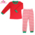 Wholesale toddler boutique baby christmas clothes children cotton stripe christmas kids pajamas