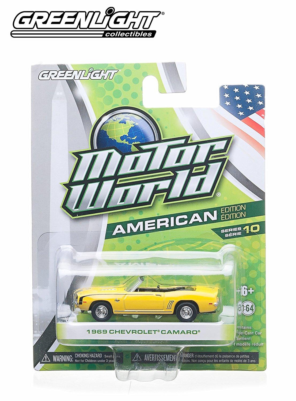 1969 Chevrolet Camaro (Yellow) * 2014 Motor World * Series 10 American Edition 1:64 Scale Die-Cast Vehicle
